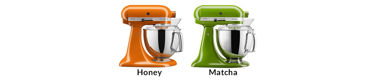 Neue Farben der KitchenAid 175